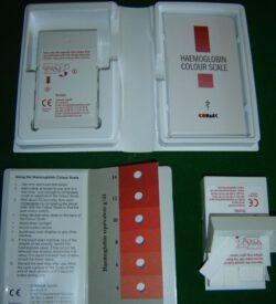 Haemoglobin colour scale – Anemia test KIt